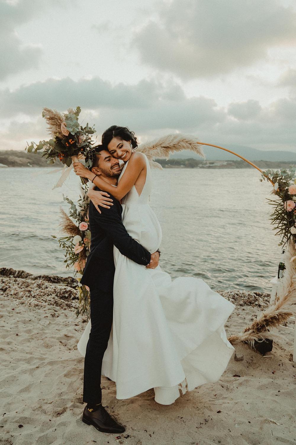 сватбен фотограф, морска сватба